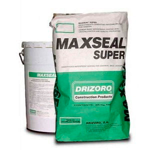 Проникаюча гідроізоляція Drizoro MAXSEAL SUPER 25 кг сіра