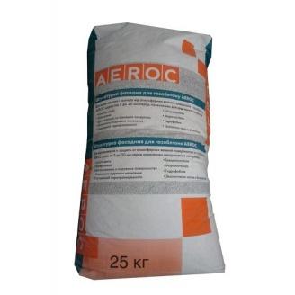 Фасадная штукатурка AEROC для газобетона облегченная 20 кг