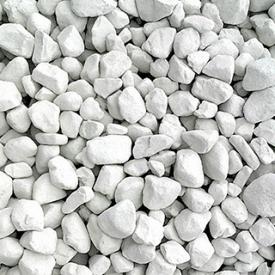 Известь комовая негашеная 20-40 мм белая мешок 40 кг