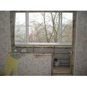 Демонтаж балконного блоку для перепланування
