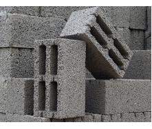 Блок из отсева гравия 190x190x390 мм