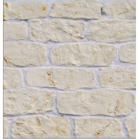 Облицювальний камінь Палермо 20х120х190 мм ваніль