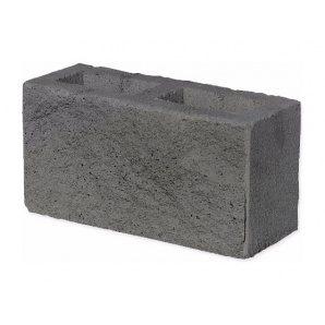 Колотий блок ЕКО 350х190х140 мм сірий