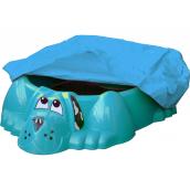 Пісочниця-басейн Keter Собачка PalPlay з накриттям