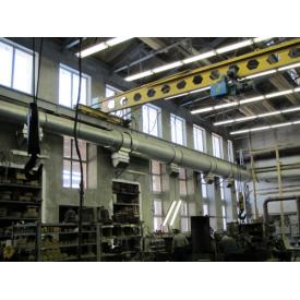 Установка вентиляції промислового і виробничого приміщення
