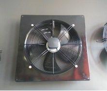 Вентилятор Fluger YWFB осевой в раме
