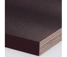 Фанера ламинированная ФСФ тополь 18х1250х2500 мм коричневая