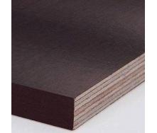 Фанера ламинированная ФСФ тополь 21х1250х2500 мм коричневая