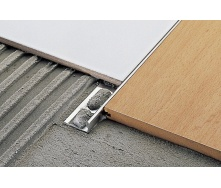Профиль наружный для плитки НП12 нержавеющая сталь 12 мм 2,5 м