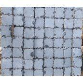 Брусчатка базальтовая резаная 10х10 см