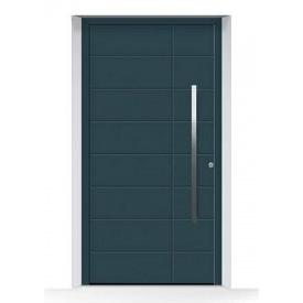 Алюминиевые входные двери Hormann ThermoSafe, мотив 862 875х1875 мм