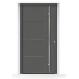 Алюминиевые входные двери Hormann ThermoSafe мотив 871 875х1875 мм