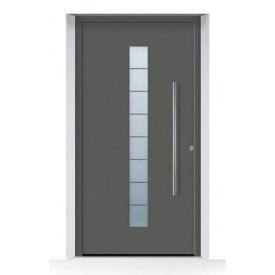Алюминиевые входные двери Hormann ThermoSafe мотив 503 875х1875 мм