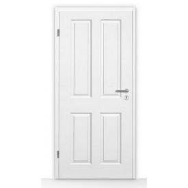 Внутренние деревянные двери Hormann ClassicLine Carollina 2 735х1985 мм лак белый