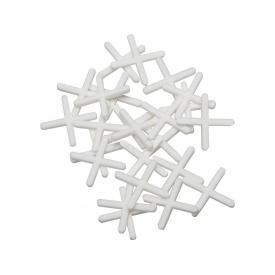 Пластикові хрестики 2 мм 200 шт