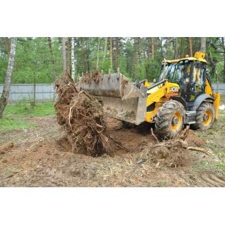 Спил деревьев и корчевание пней