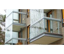 Безрамное остекление балконов GLASS SET 3000х1700 мм