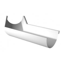Кут ринви внутрішній Ruukki 135 градусів 125 мм білий