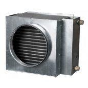 Канальний водяний нагрівач повітря Vents НКВ 250-4 470х350х350 мм