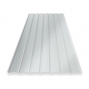 Профнастил Ruukki RanTech 15 A Polyester фасадний 40 мм сріблястий