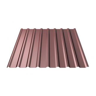 Профнастил Ruukki RanTech 20 R Polyester Matt фасадний 45 мм шоколадний