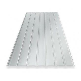 Профнастил Ruukki RanTech 15 B Polyester фасадний 40 мм сріблястий