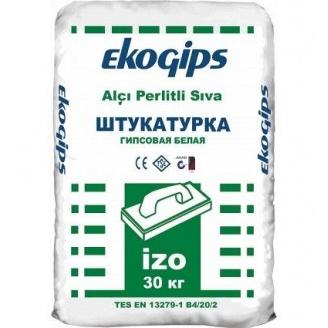 Стартовая гипсовая шпаклевка Изогипс Экогипс 30 кг
