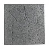 Тротуарная плитка Песчаник 30х30х3 см серая