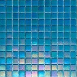 Мозаика стеклянная на бумаге Eco-mosaic перламутр 20IR12 327х327 мм