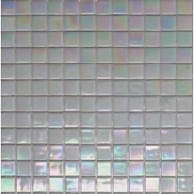 Мозаика стеклянная на бумаге Eco-mosaic перламутр IA201 327х327 мм
