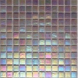Мозаика стеклянная на бумаге Eco-mosaic перламутр 20IR42 327х327 мм