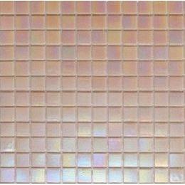Мозаика стеклянная на бумаге Eco-mosaic перламутр IA802 327x327 мм