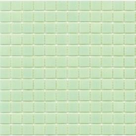Мозаика гладкая стеклянная на бумаге Eco-mosaic NA 401 327x327 мм