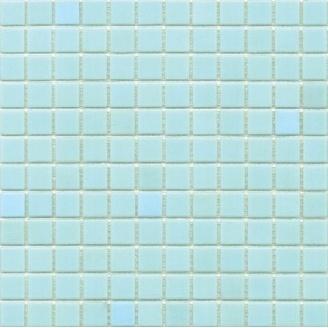 Мозаика гладкая стеклянная на бумаге Eco-mosaic NA 301 327x327 мм