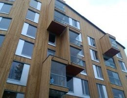 В США построят первую в мире полностью деревянную 11-этажную высотку!