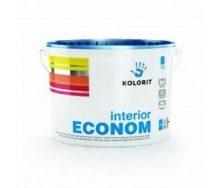 Водоемульсійна фарба Колорит Економ 9 л