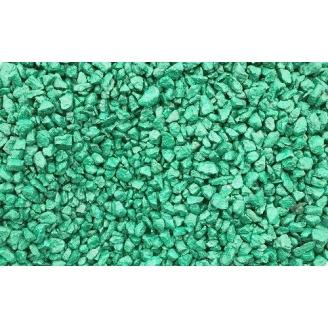 Щебень зеленый насыпом 40-70 мм
