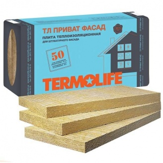 Базальтовая вата Termolife Приват Фасад 100 мм 115пл