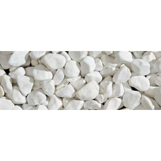 Мраморная галька 10-30 мм белая