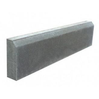 Бордюр тротуарный 1000х200х80 мм серый