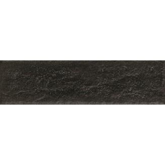 Фасадная плитка клинкерная Paradyz Scandiano Nero, 245x66х11 мм