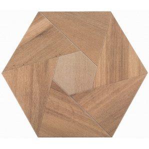 Плитка для підлоги ATEM Wood YL шестигранна 400х346 мм