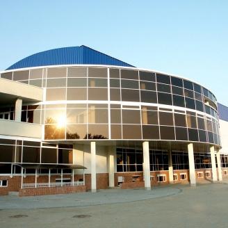 Алюминиевый фасад 5700х3500 мм