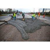 Влаштування бетонної основи