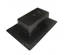 Вентиль кровельный стандарт 398х283 мм черный