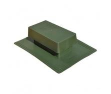 Вентиль кровельный стандарт 398х283 мм зеленый