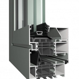Алюминиевое окно Reynaers Masterline 8 теплое