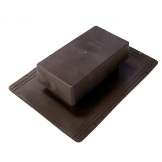 Вентиль кровельный стандарт 398х283 мм коричневый