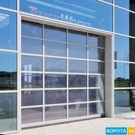Автоматические промышленные секционные ворота HORMANN APU 3000х4000 мм
