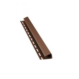 J-планка BudMat 3000 мм темно-коричневая
